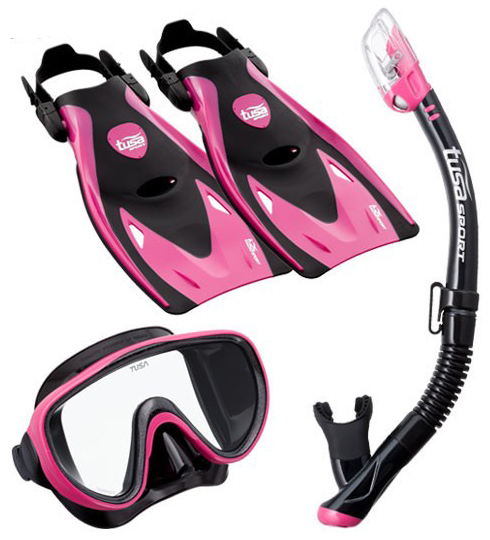 Tusa Serene Hyperdry Travel Set Pink