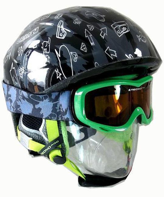 TechnoPro Urban Helmet + Goggles
