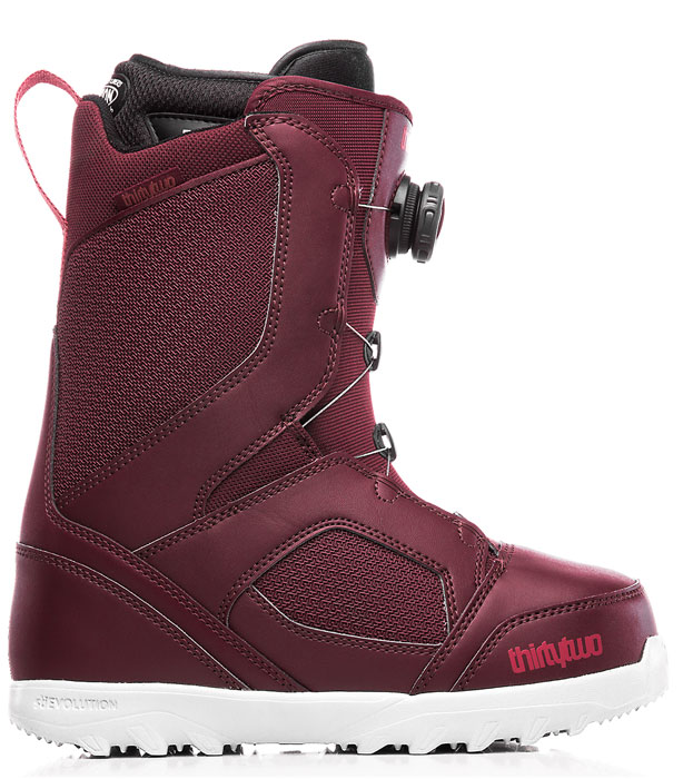 ThirtyTwo STW Boa Burgundy '19