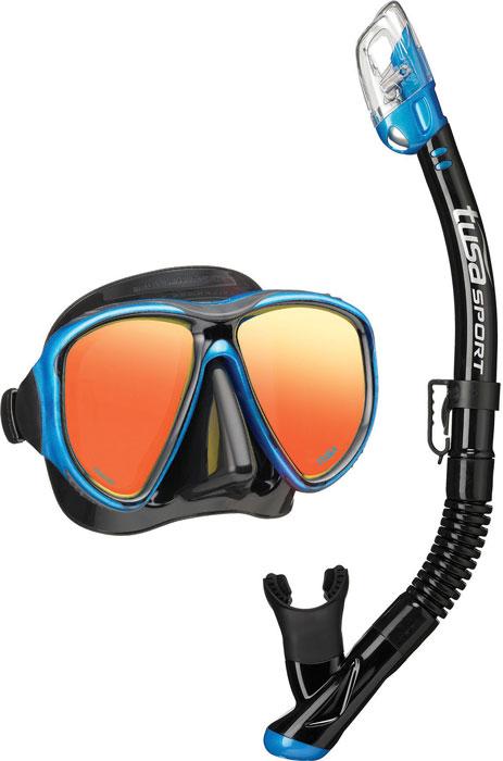 Tusa Powerview Mask & Snorkel Blue