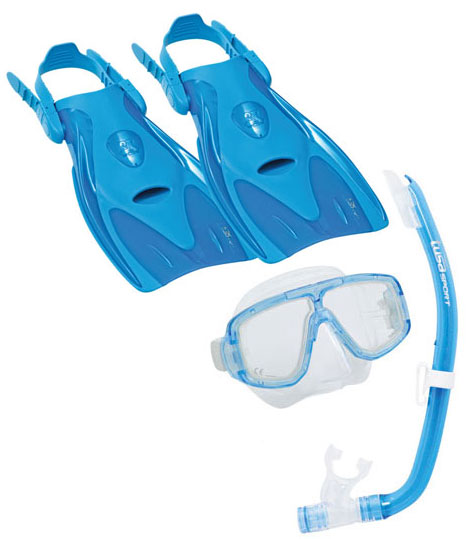 Tusa Platina Hyperdry Travel set Blue