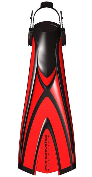 Atomic Aquatics X1 Bladefin Red
