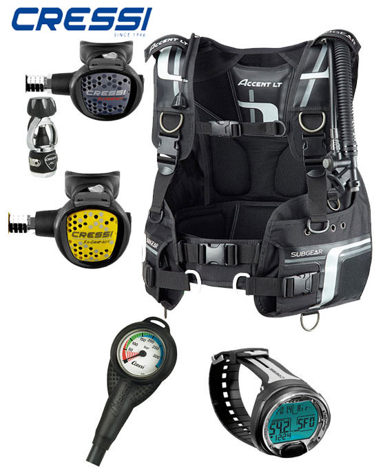 Cressi / Subgear BCD Dive Package