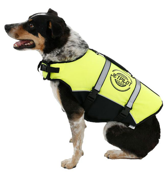 Jetpilot Dog Life Vest Yellow