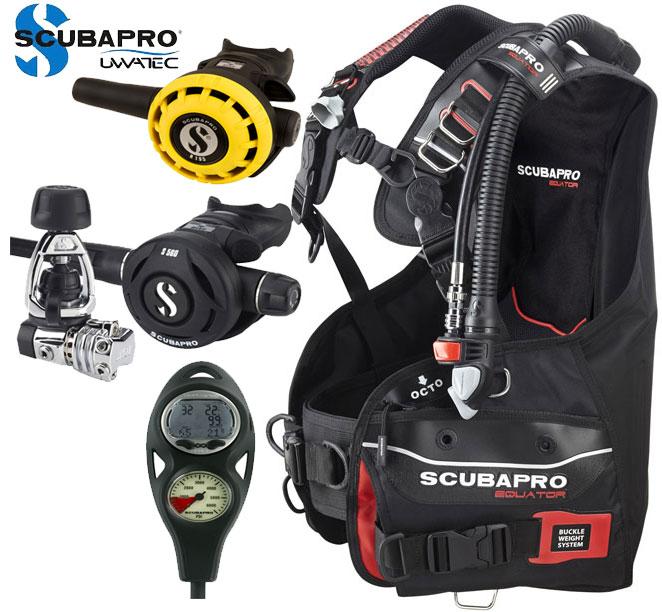 Scubapro Equator Dive Package