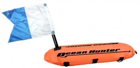 Ocean Hunter Float with Line & Flag