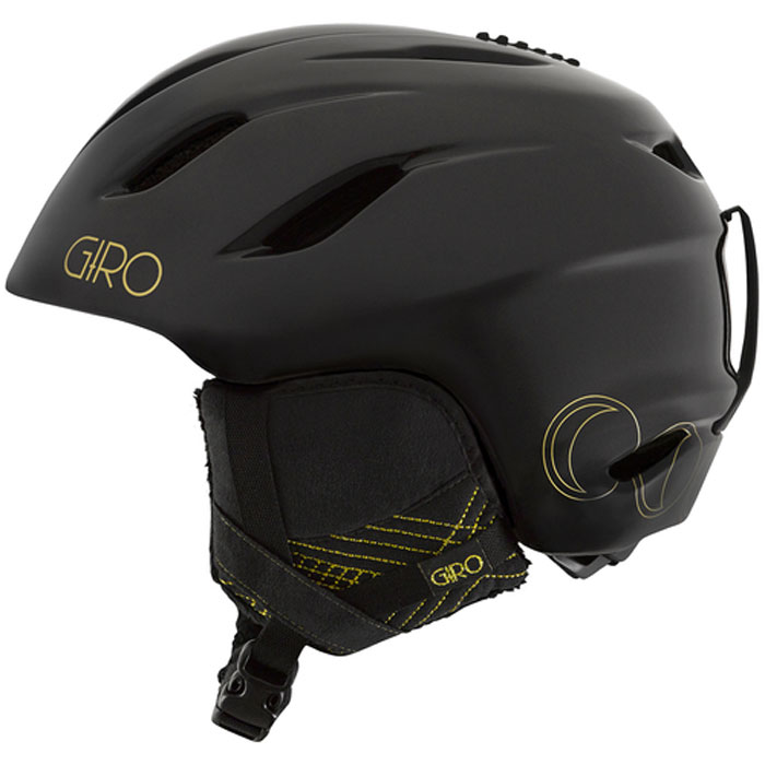 Giro Womens Era Black/Gold