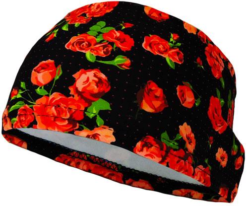 Hele Headband Roses Black