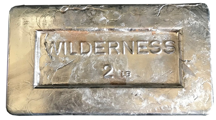 Lead Weight Ingot 2 Pound