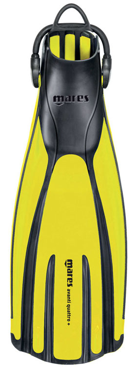 Mares Avanti Quattro Plus Yellow
