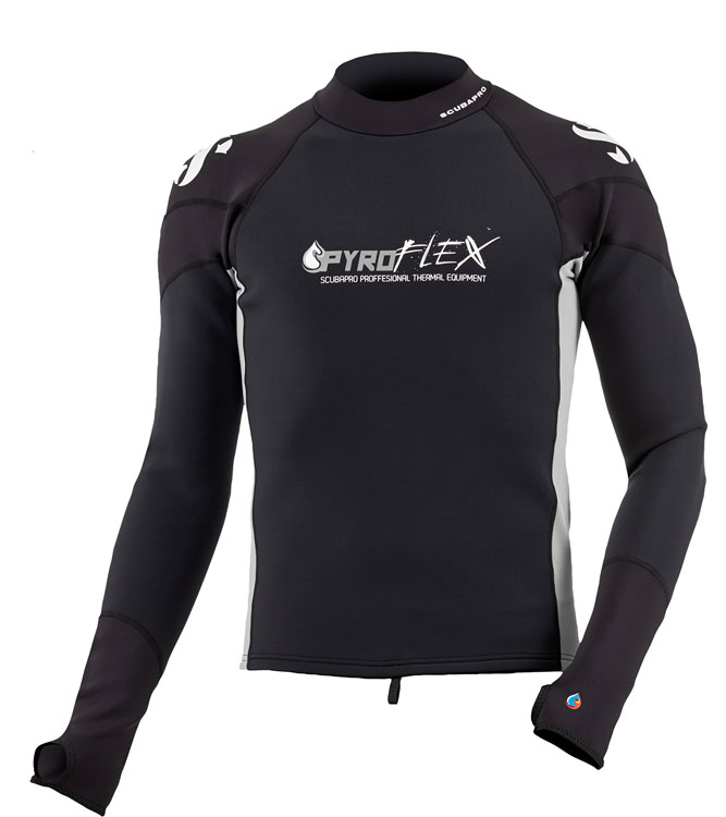 Scubapro Mens Pyroflex Top 1.5mm L/S