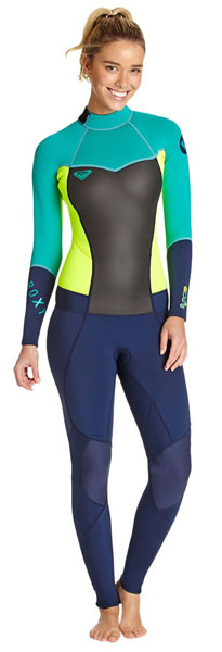 Roxy Ladies Wetsuit Steamer Syncro 3X2 - Wilderness Sea n  Ski 08a24b1c6
