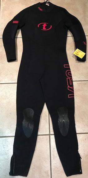 Tusa Ladies 5mm wetsuit Ex Rental