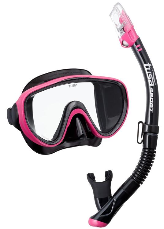 Tusa Serene Mask & Snorkel Set Pink