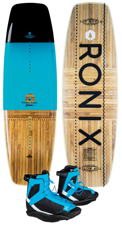 Ronix Top Notch Blue/District Boots 2019