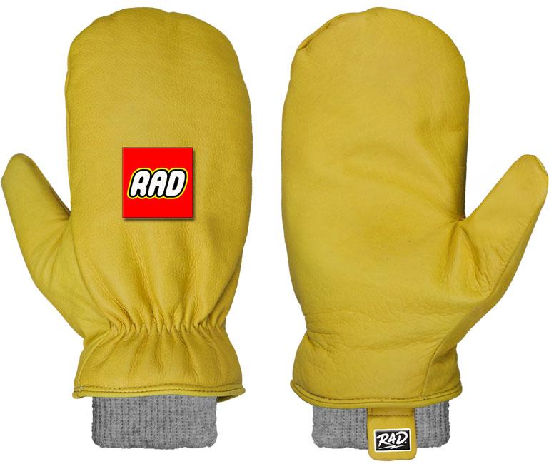Rad Rancher Mitten Yellow '19