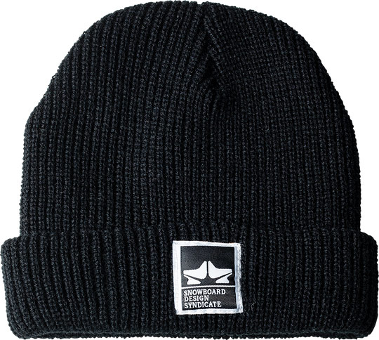Rome Syndicate Beanie Black