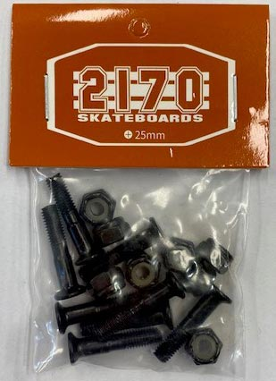 "2170 Bolts 1"" Black"