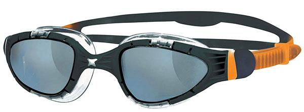 Zoggs Aqua Flex Black Goggles
