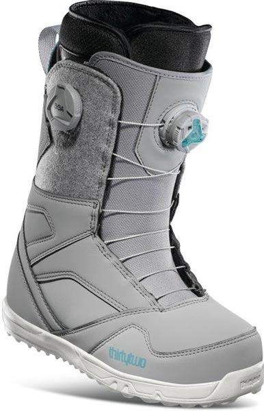 ThirtyTwo STW Double Boa Grey 2021