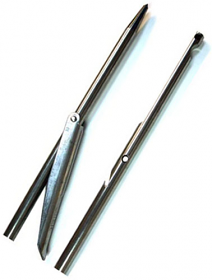 Omer 7mm Stainless Steel Spear Shaft