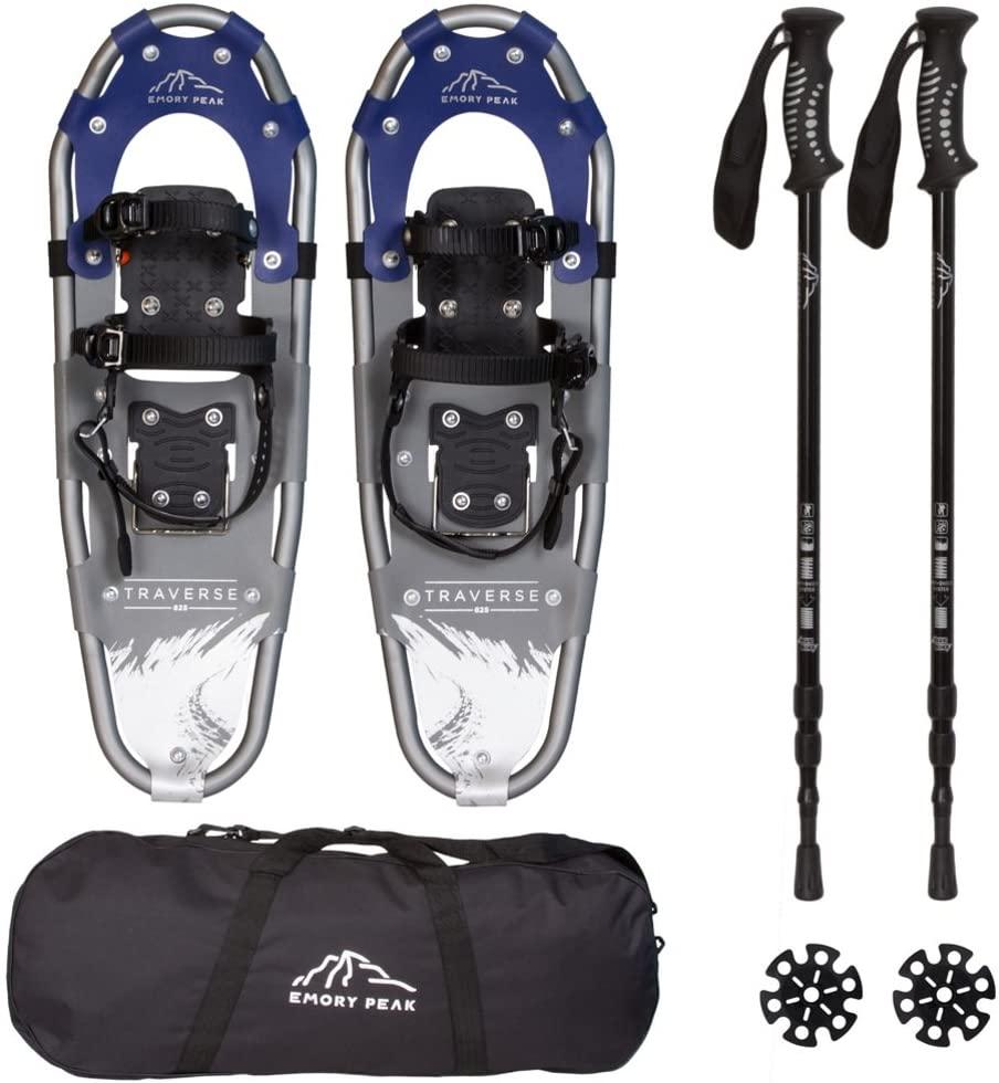Emory Peak Traverse 930 Snowshoes & Poles