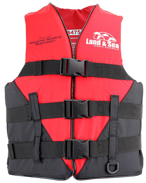 L&S Aquatic Sports Kids L50 Nylon Red