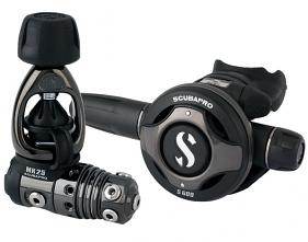 Scubapro MK25/S600 Black Tech