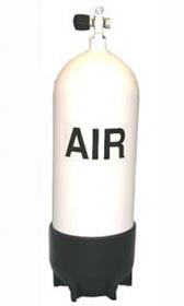 Steel Cylinder 120cft faber 15ltr 232bar