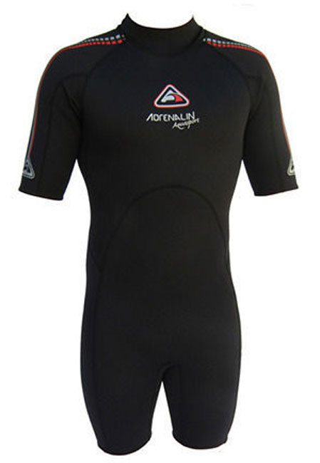 Adrenalin Aquasport Mens 2mm Spring Black