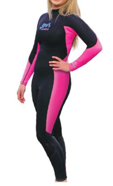 Adrenalin Enduro Ladies 3mm Steamer Pink