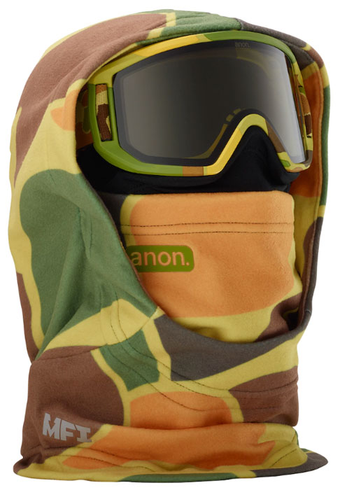 Anon MFI Kids Hooded Clava Camo