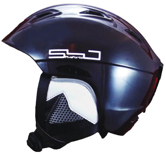 540 Apollo Black Helmet