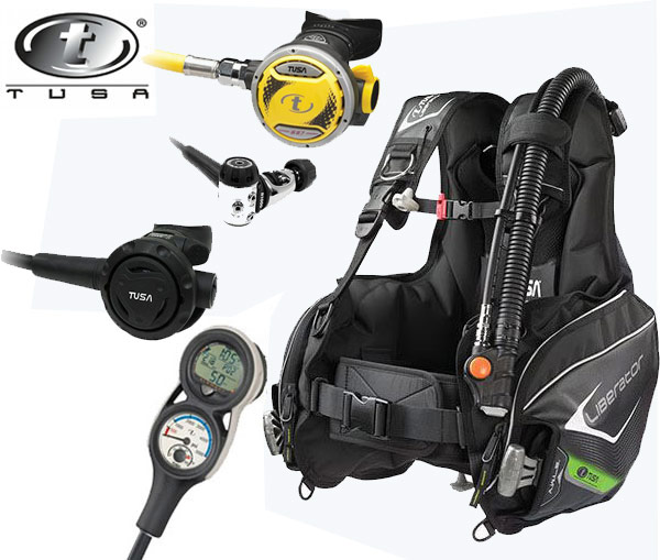 Tusa Liberator BCD Dive Package