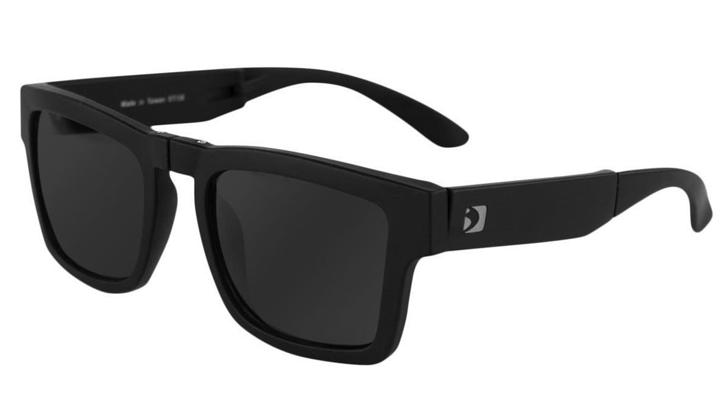 Bobster Brix Folding Sunglasses Black