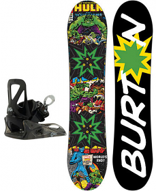Burton Boys Chopper Marvel & Grom Bindings