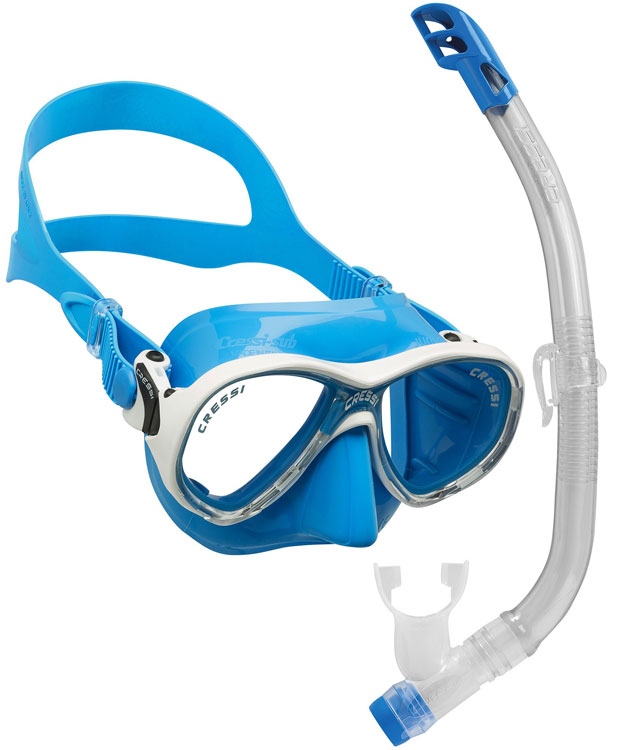 Cressi Marea VIP Junior Set Blue