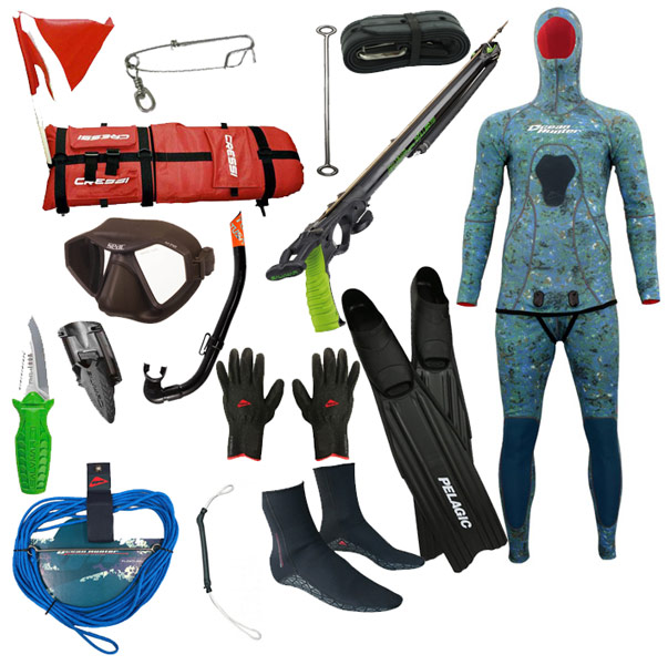 The Roller Gun Spearfishing Package