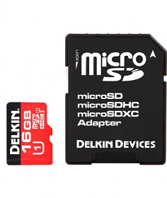 Delkin Micro SD Card 16GB