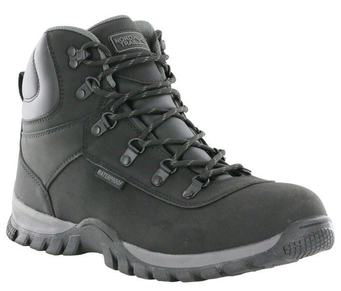 Nord Trail Edge Hi WP Mens Black