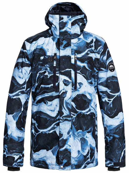 Quiksilver Mission Printed Blue '19