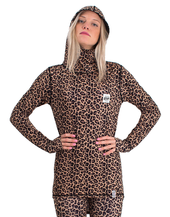 Eivy Icecold Hood Top Leopard '18