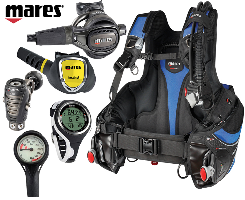Mares Prestige Epic Dive Package