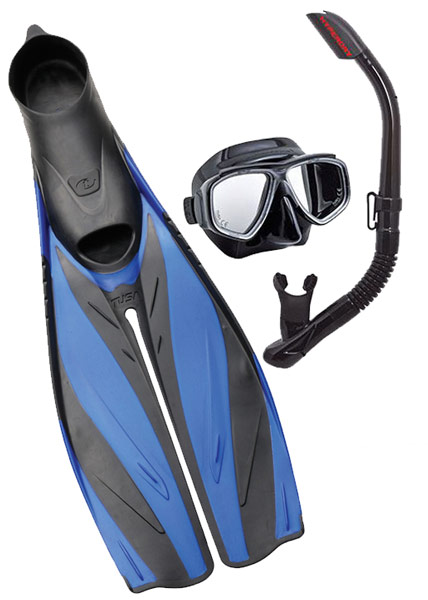Tusa FF19 Fin & Tusa Splendive Mask Set