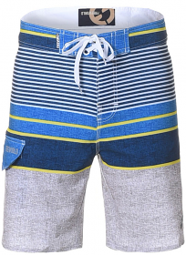 Freeworld Boardshorts Bl/Gry