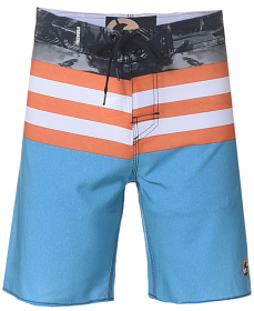 Freeworld Boardshorts Bl/Org
