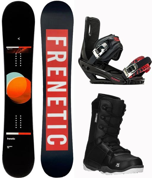 Frenetic Quantum /5th Element Bindings/ Boots