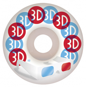 3D - 3D Glasses White