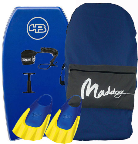 Hot Buttered Epic Bodyboard Package