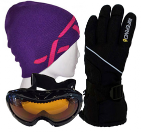 Kids Gloves,Goggles & Beanie Pack